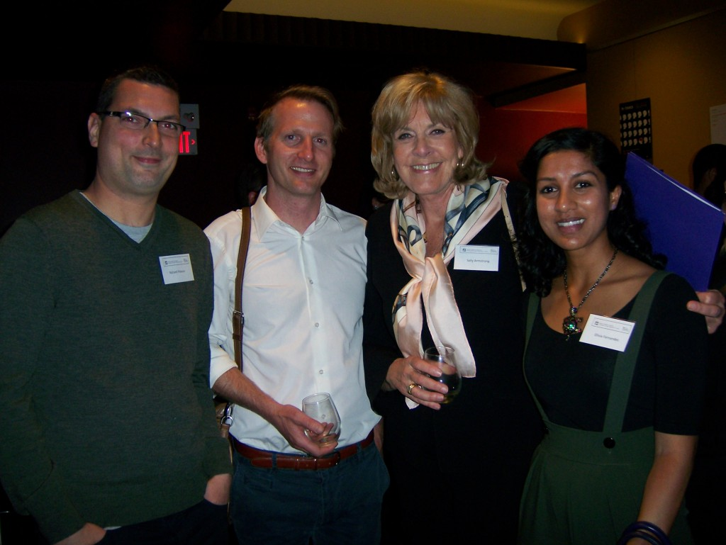 Richard Fitoussi, Marco Oved (Toronto Star), Sally Armstrong, Olivia Fernandes