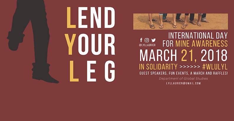 Lend Your Leg Laurier 2018