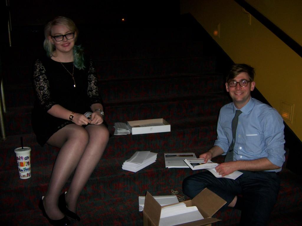 Katie Dupont (volunteer); Matt Baker